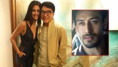 Disha Patani shares pic with Jackie Chan; Tiger Shroff can't resist from commenting