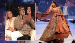 WATCH: Amitabh Bachchan records daughter Shweta's ramp walk like a proud father