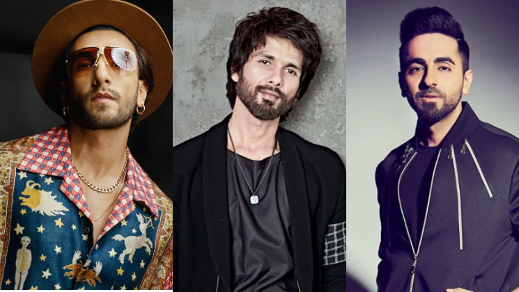 Shahid Kapoor is all praise for Ranveer Singh and Ayushmann Khurrana-watch video | Bollywood Bubble