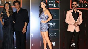 Vogue X Nykaa Fashion Power List 2019: Shah Rukh Khan, Katrina Kaif & Hrithik Roshan dazzle on the red carpet