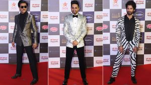 Star Screen Awards 2019: Ranveer Singh, Ayushmann Khurrana and Shahid Kapoor grace the red carpet