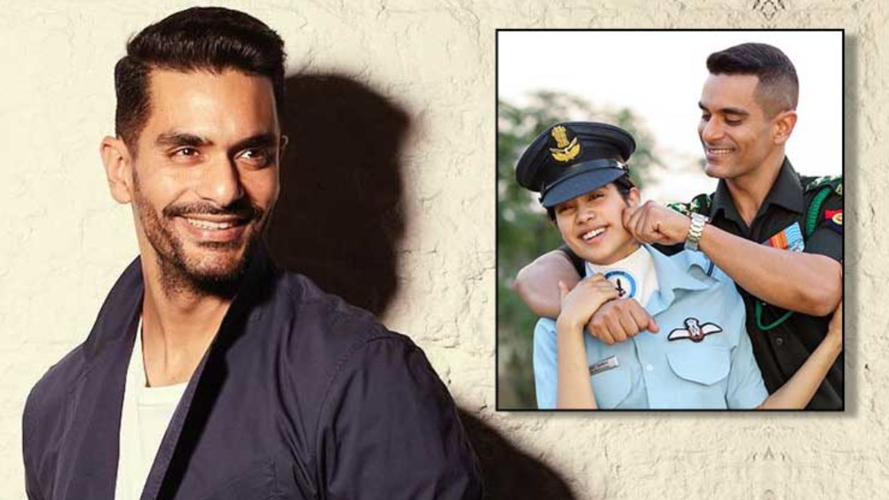 Angad Bedi Defends Janhvi Kapoor S Casting As Gunjan Saxena In The Iaf Pilot S Biopic Bollywood Bubble