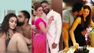 Shefali Jariwala and Parag Tyagi are dishing out couple goals in these romantic pics