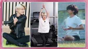 International Yoga Day: From BTS to TXT, how members use asanas in their regular exercise regime