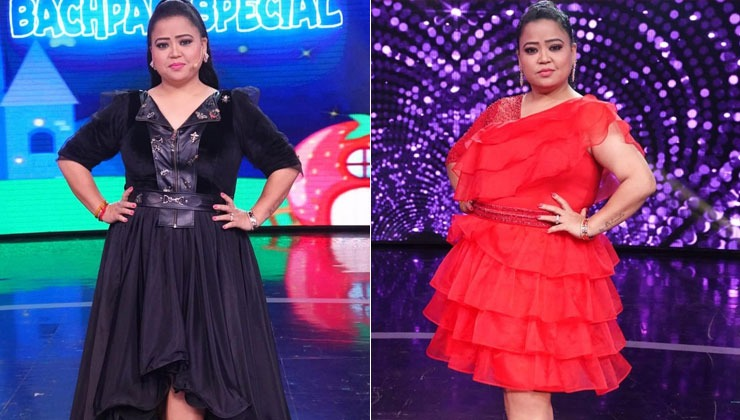 As Bharti Singh goes down from 91 to 76 kilos, her post weight loss photos will blow your mind