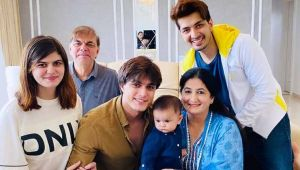 Happy Birthday Mohsin Khan: THESE photos prove that the actor is a true family man