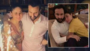 Kareena Kapoor & Saif Ali Khan Anniversary: THESE loved up pics prove that they are made for each other